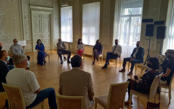 Kultūros ministerijos nuotr./Susitikimas su LKT