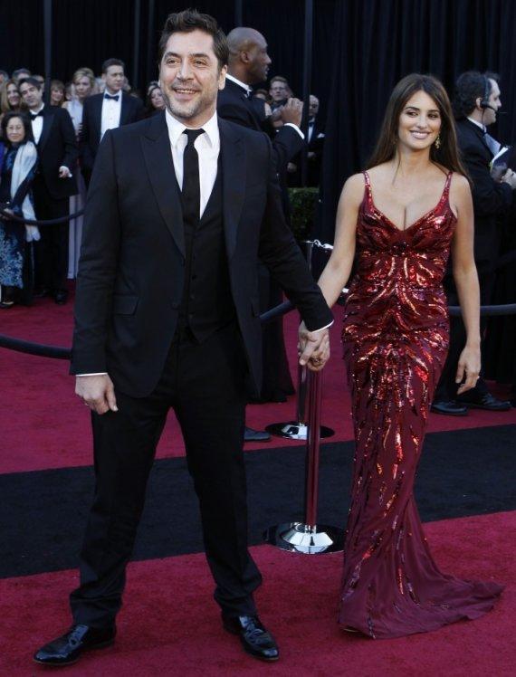 """Reuters""/""Scanpix"" nuotr./Javieras Bardemas ir Penelope Cruz"