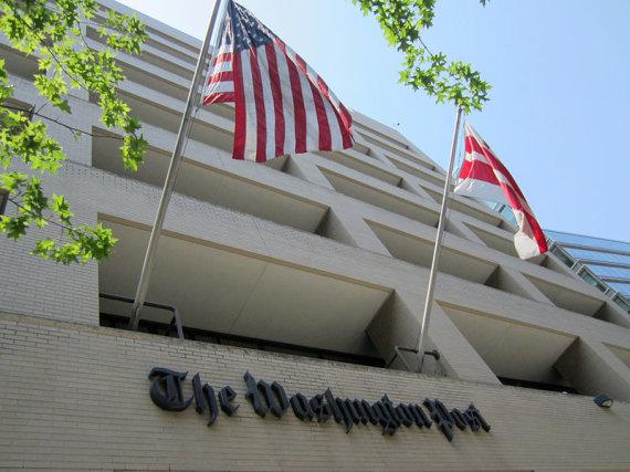 "Danielio X. O'Neilo/Wikimedia.org nuotr./""The Washington Post"" redakcijos pastatas"