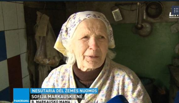 """LRT laidos """"Panorama"""" stopkadras/Sofija Markauskienė"""