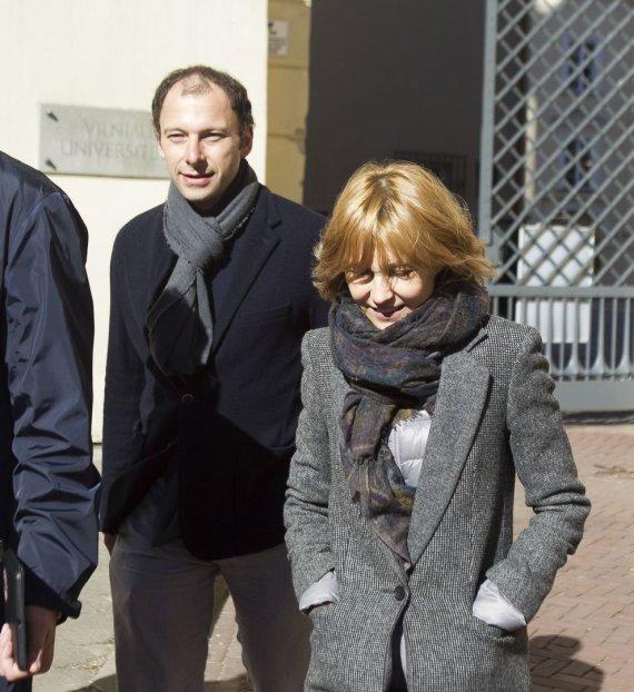 Irmanto Gelūno / 15min nuotr./Advokatas, verslininkas Dmitrijus Jampolskis ir Ingeborga Dapkūnaitė