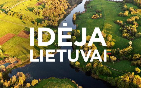 """15min nuotr./Iniciatyva """"Idėja Lietuvai"""""""