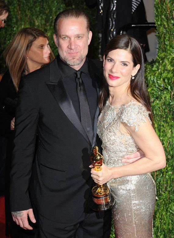 Pauliaus Sviklo / 15min nuotr./Sandra Bullock ir Jesse'is Jamesas