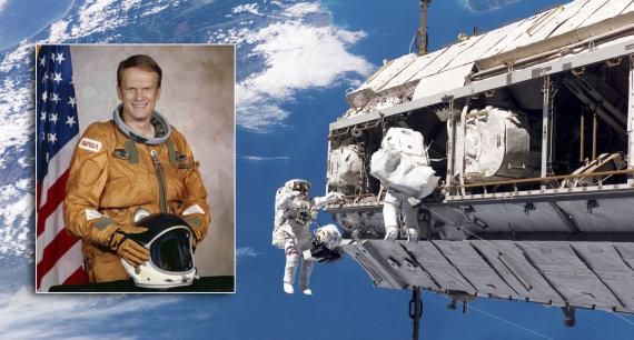 NASA iliustr./Astronautas Karolis Bobko