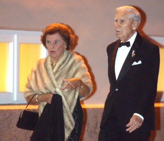 Valdo Kopūsto nuotr./J.Kazickas su žmona.
