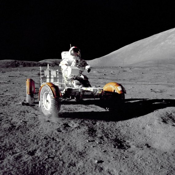 """""""Scanpix""""/AP nuotr./JAV astronautas Eugene'as Cernanas"""