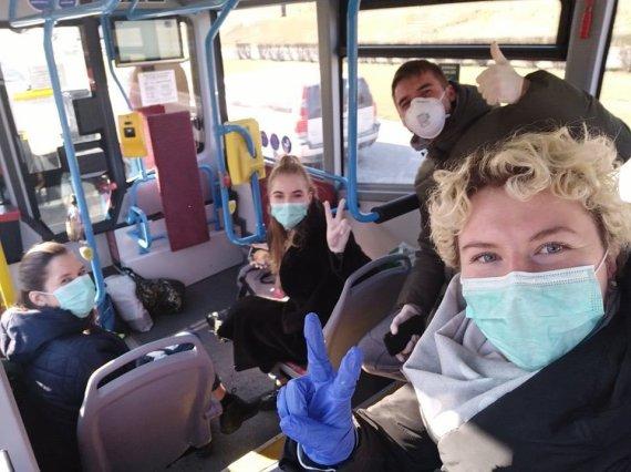 Asmeninio albumo nuotr./Monika Bandaraitė ir kiti virusu užsikrėtę pacientai
