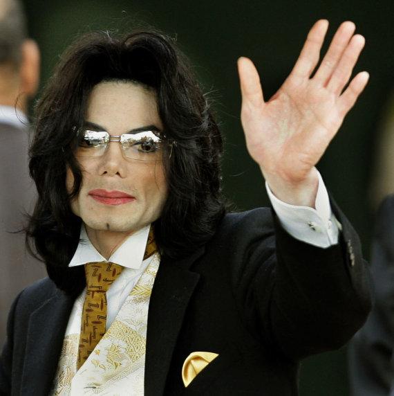 "AFP/""Scanpix"" nuotr./Michaelas Jacksonas (2005 m.)"
