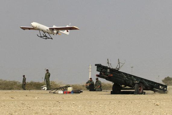 """""""Scanpix""""/AP nuotr./Irano dronas"""