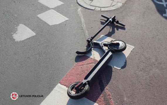 Lietuvos policijos nuotr./Ketvirtadienio paros avarijų statistika