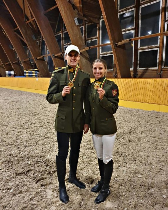 pentathlon.lt/Gintarė Venčkauskaitė-Juškienė ir Dovydas Vaivada