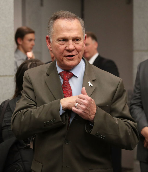 "AFP/""Scanpix"" nuotr./Roy Moore'as"