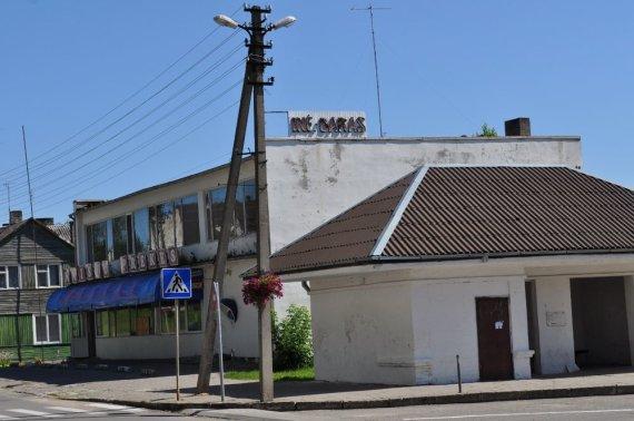 M.Vadišio nuotr./Veisiejų miestelio centre
