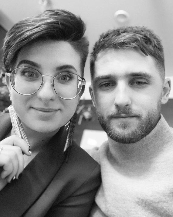 Asmeninio archyvo nuotr./Brigida Gruodytė ir Artiomas Penkevičius