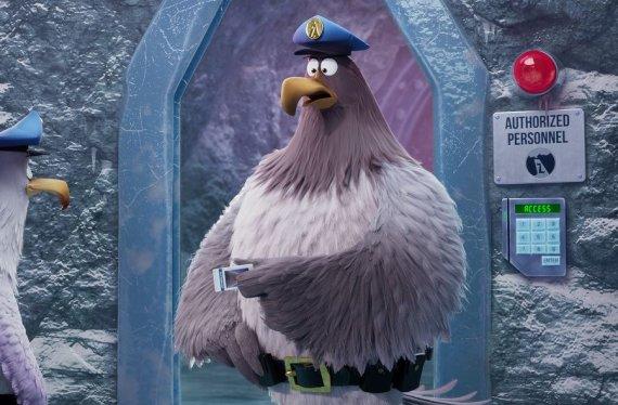 """Organizatorių nuotr./Filmo """"Piktieji paukščiai. Filmas 2"""" akimirkos"""