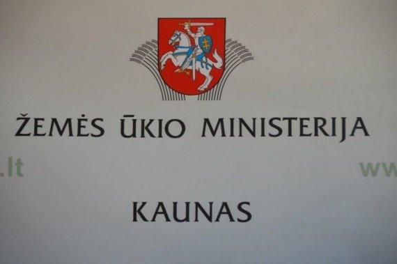 """Žemės ūkio ministerijos nuotr./Kaune atidaryta """"veidrodinė"""" Žemės ūkio ministerija"""