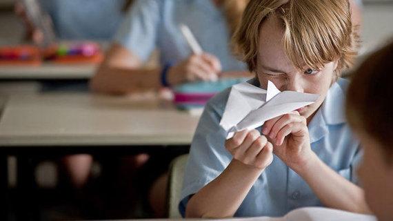 15min archyvo nuotr./ Išdyklęs vaikas klasėje