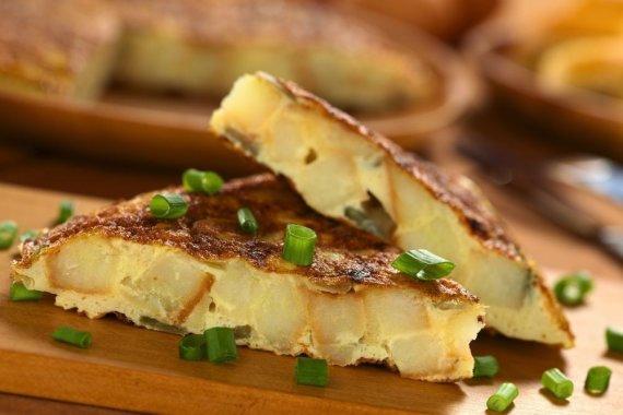 Fotolia nuotr./Ispaniškas omletas