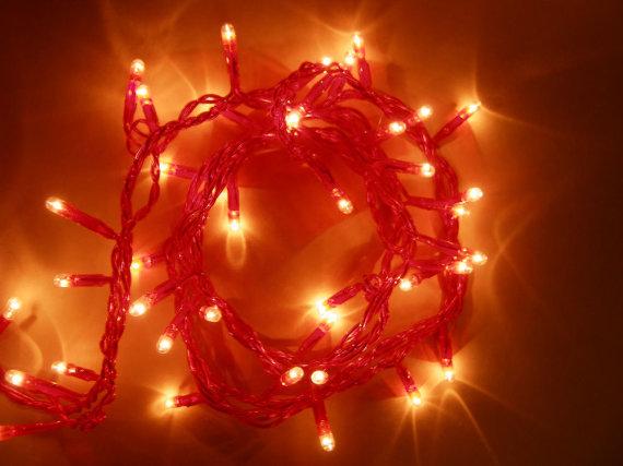 SXC nuotr./Kalėdinės lemputės