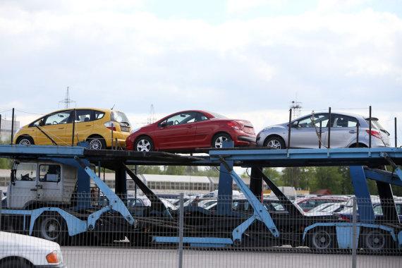 Eriko Ovčarenko / 15min nuotr./Automobilių turgus