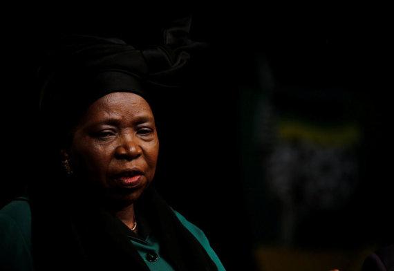 """""""Reuters""""/""""Scanpix"""" nuotr./Nkosazana Dlamini-Zuma"""