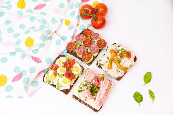 Tinklaraštininkės nuotr. /Maistingi sumuštiniai