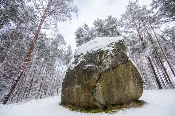 VSTT nuotr./Didysis Dzūkijos akmuo