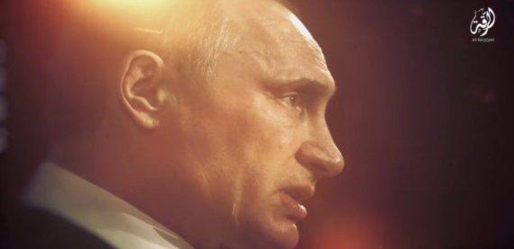 Kadras iš paiešintos vaizdo medžiagos/Vladimiras Putinas