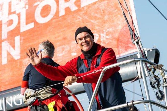 """""""Sailing Poland"""" nuotr./Bouwe Bekkingas"""