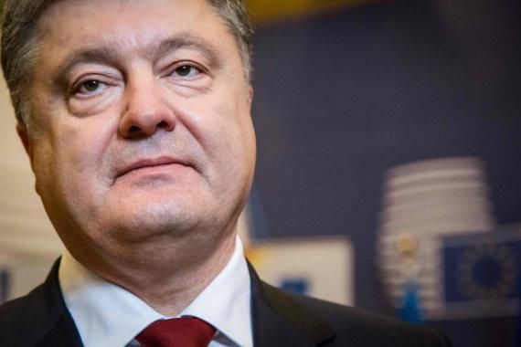 "AFP/""Scanpix"" nuotr./Petro Porošenka"