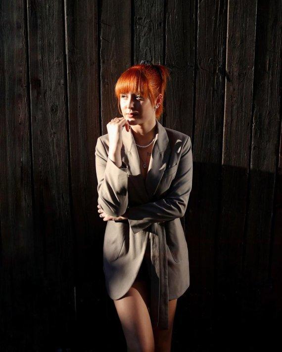 Asmeninio albumo nuotr./Monikos Marijos nauja plaukų spalva