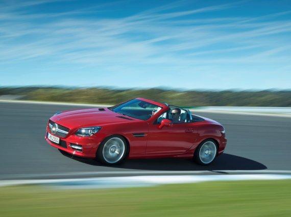 """Mercedes-Benz"" nuotr./Naujasis ""Mercedes-Benz"" SLK"