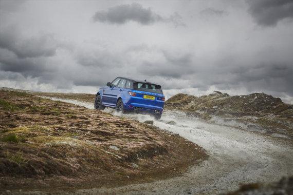 """""""Land Rover"""" nuotr./""""Plug-in"""" hibridas """"Range Rover Sport"""""""