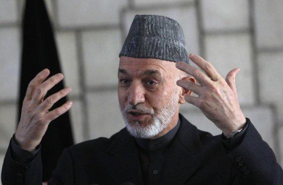 """Reuters""/""Scanpix"" nuotr./Hamidas Karzai"