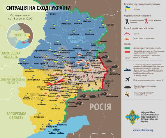 rusdialog.ru nuotrauka/Situacija rytų Ukrainoje rugpjūčio 18 d.