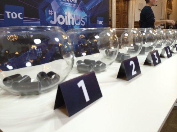 """eurovision.tv nuotr./""""Eurovizijos"""" burtai"""