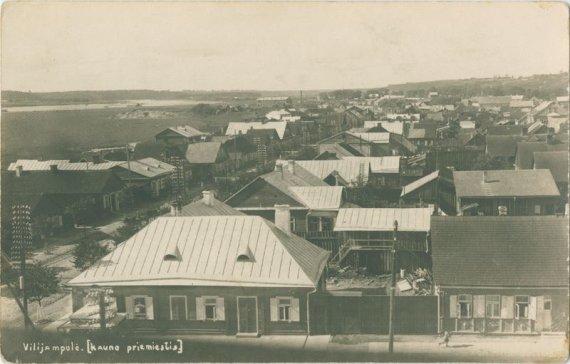 Nacionalinio M. K. Čiurlionio dailės muziejaus nuotr./Vilijampolės panorama XX a. I pusė