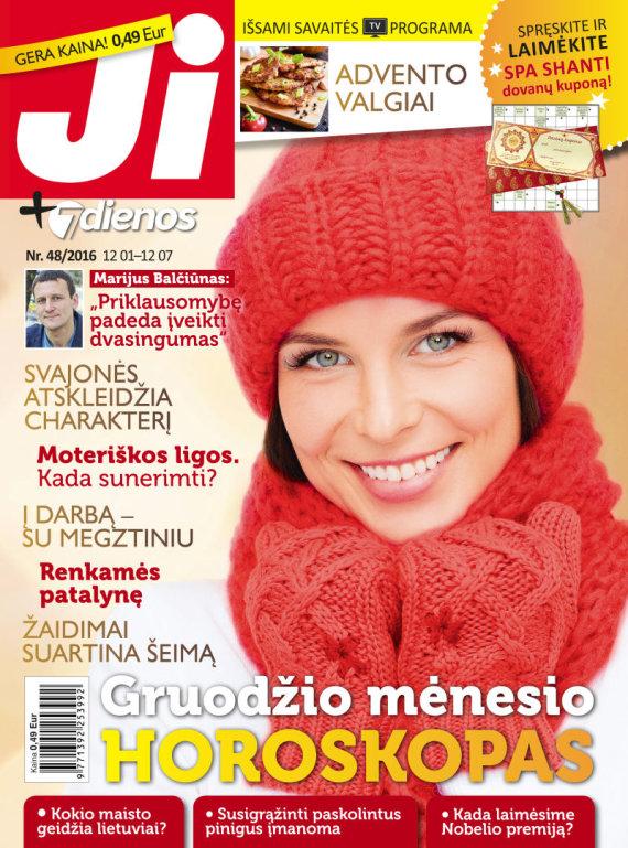 """Redakcijos archyvo nuotr./Žurnalas """"Ji"""" (48 nr.)"""