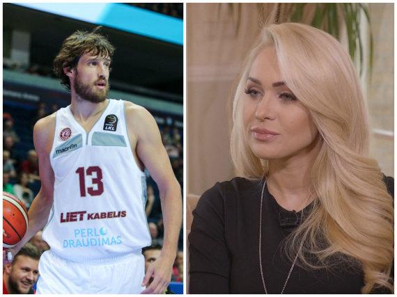 15min ir TV3 nuotr./Simas Jasaitis ir Oksana Pikul-Jasaitienė