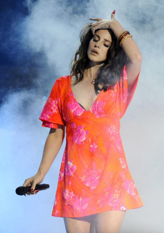 """""""Scanpix""""/AP nuotr./Lana Del Rey"""