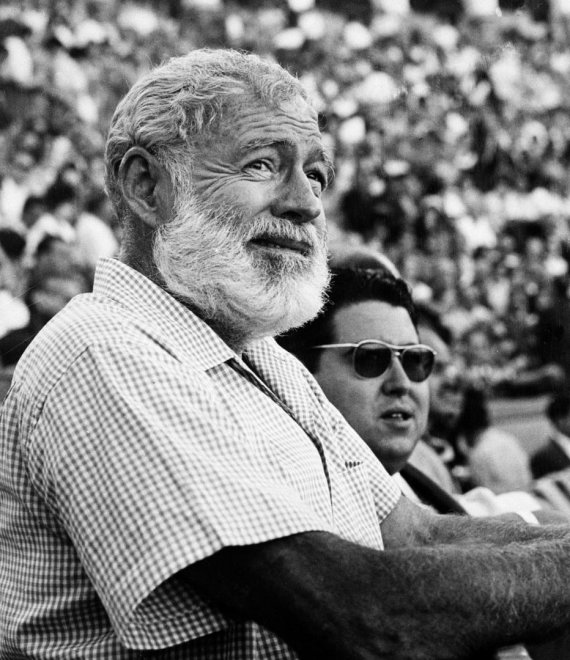 """""""Scanpix""""/AP nuotr./Ernestas Hemingway'us"""
