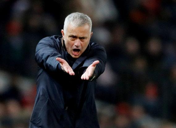 """""""Scanpix"""" nuotr./Jose Mourinho"""