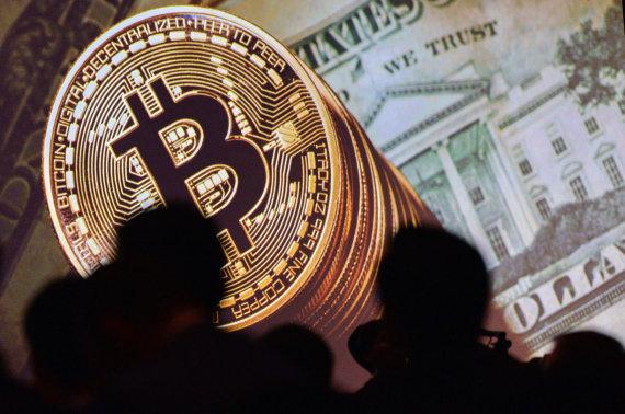 """AFP/""""Scanpix"""" nuotr./Bitkoinai"""