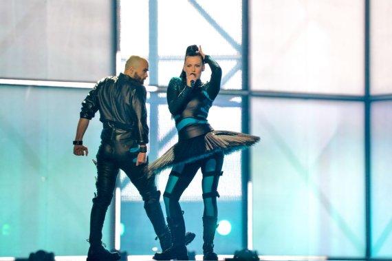 eurovision.tv nuotr./Vilija Matačiūnaitė ir Šarūnas Kirdeikis
