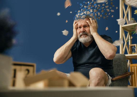 123RF.com nuotr./Senatvinė demencija