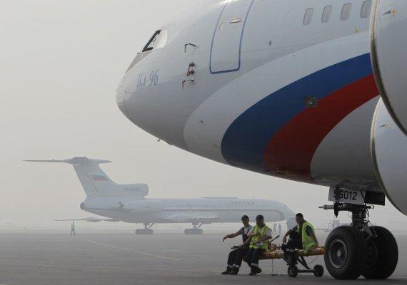 Reuters/Scanpix nuotr./Vnukovo oro uostas