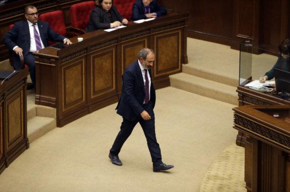 """""""Scanpix""""/AP nuotr./Nikolas Pašinianas"""