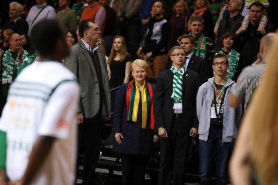 Eriko Ovčarenko / 15min nuotr./Dalia Grybauskaitė