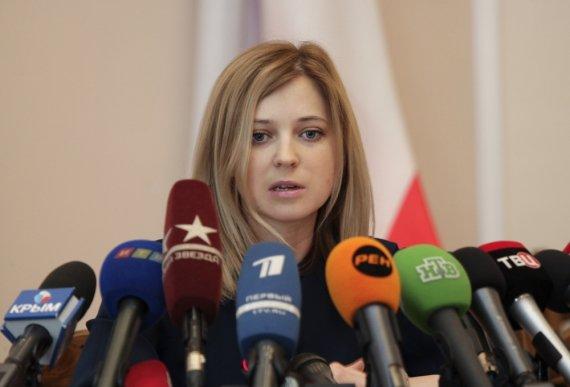 """Reuters""/""Scanpix"" nuotr./Krymo prokurorė Natalija Poklonskaja"