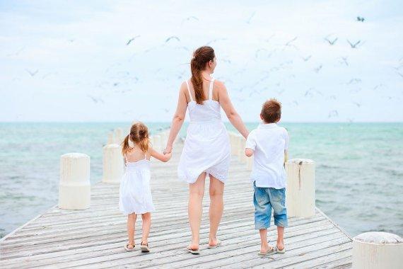 Mama su vaikais